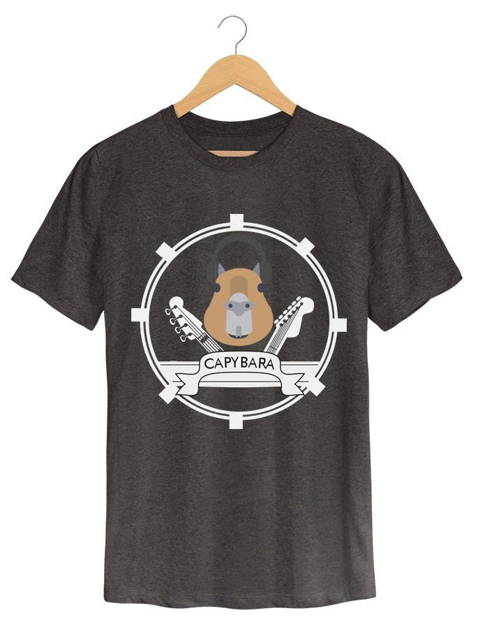 Camiseta Capybara - Masculino