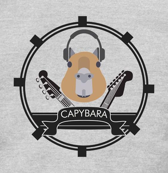 Camiseta - Capybara - Masculino