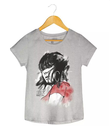 Camiseta - Cat Power - Feminino