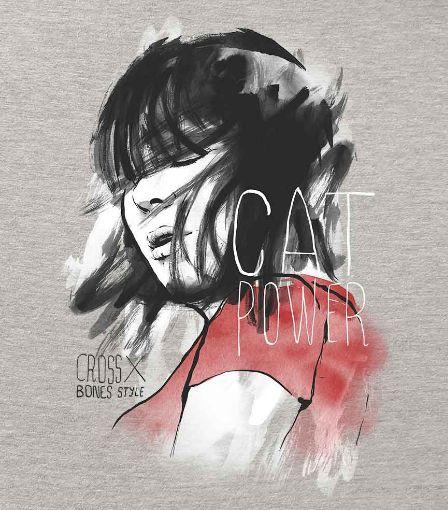 Camiseta - Cat Power - Feminino