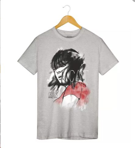 Camiseta - Cat Power - Masculino