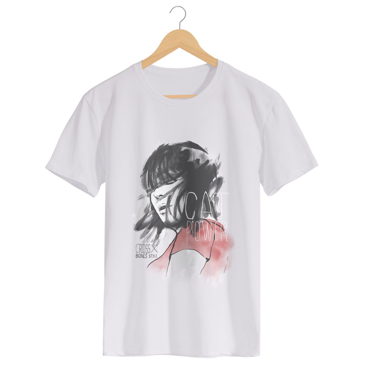 Camiseta Cat Power - Masculino