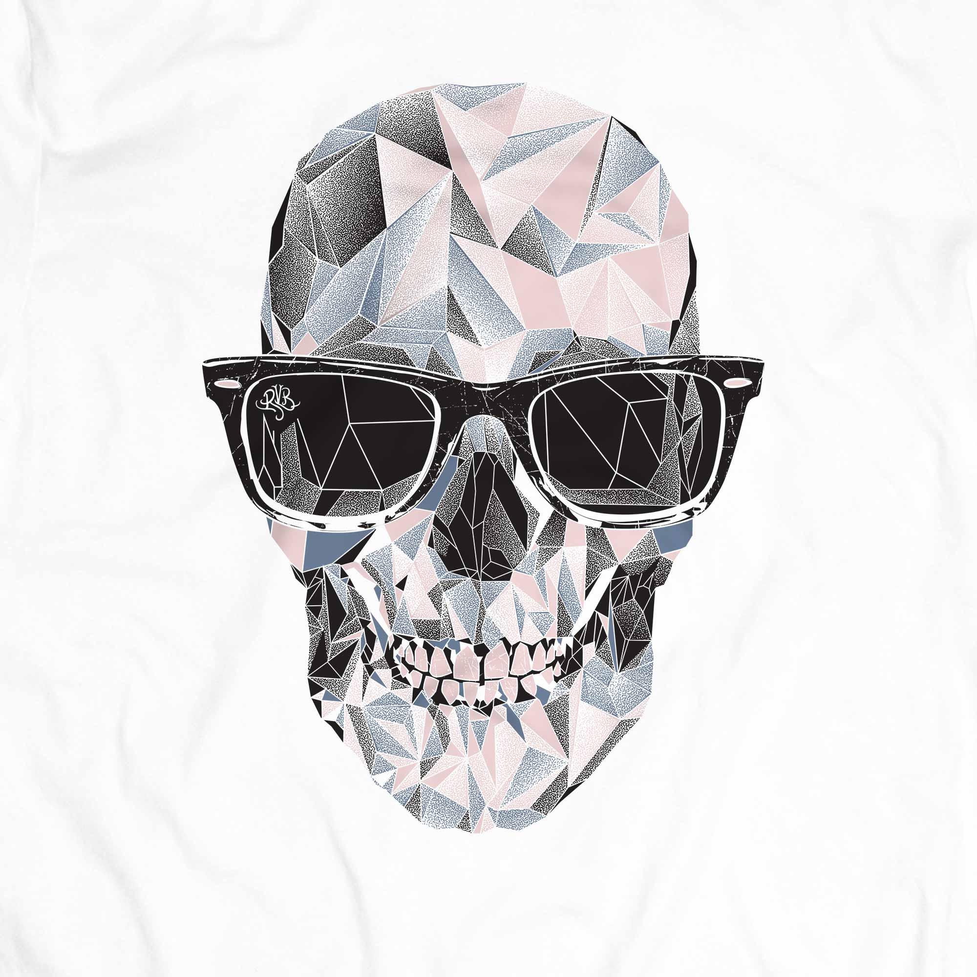 Camiseta Caveira Geométrica - Masculino