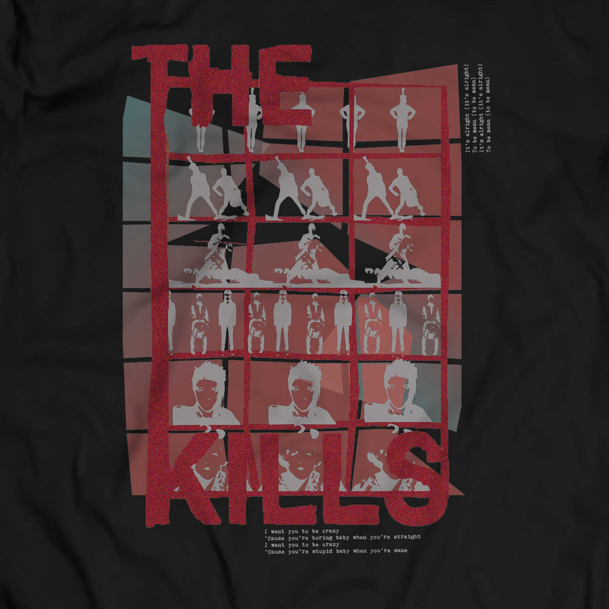 Camiseta Cheap And Cheerful - The Kills - Masculino