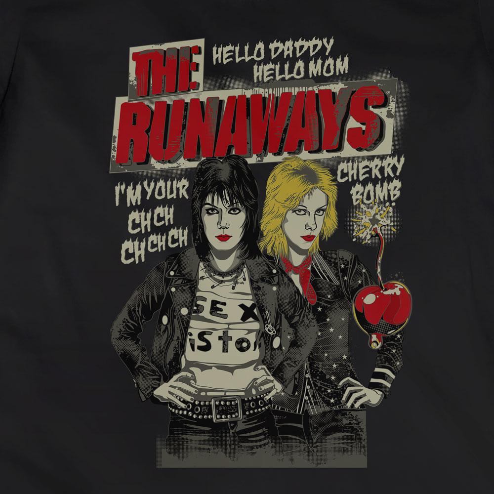 Camiseta Cherry Bomb - The Runaways - Feminino