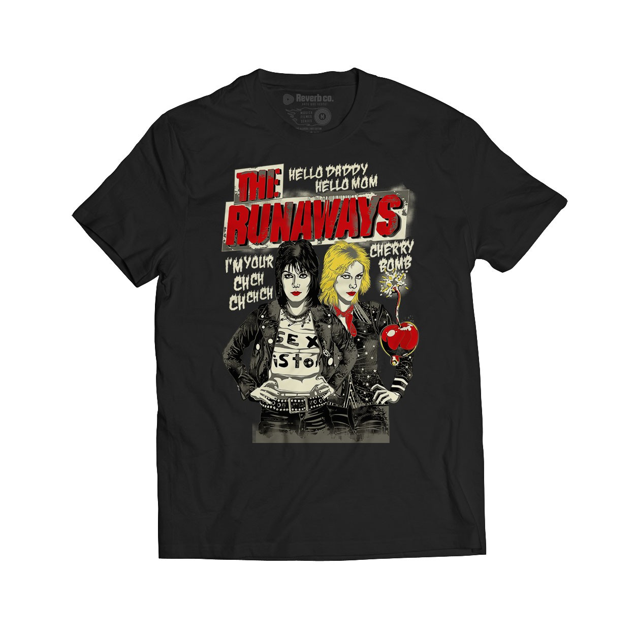 Camiseta Cherry Bomb - The Runaways - Masculino