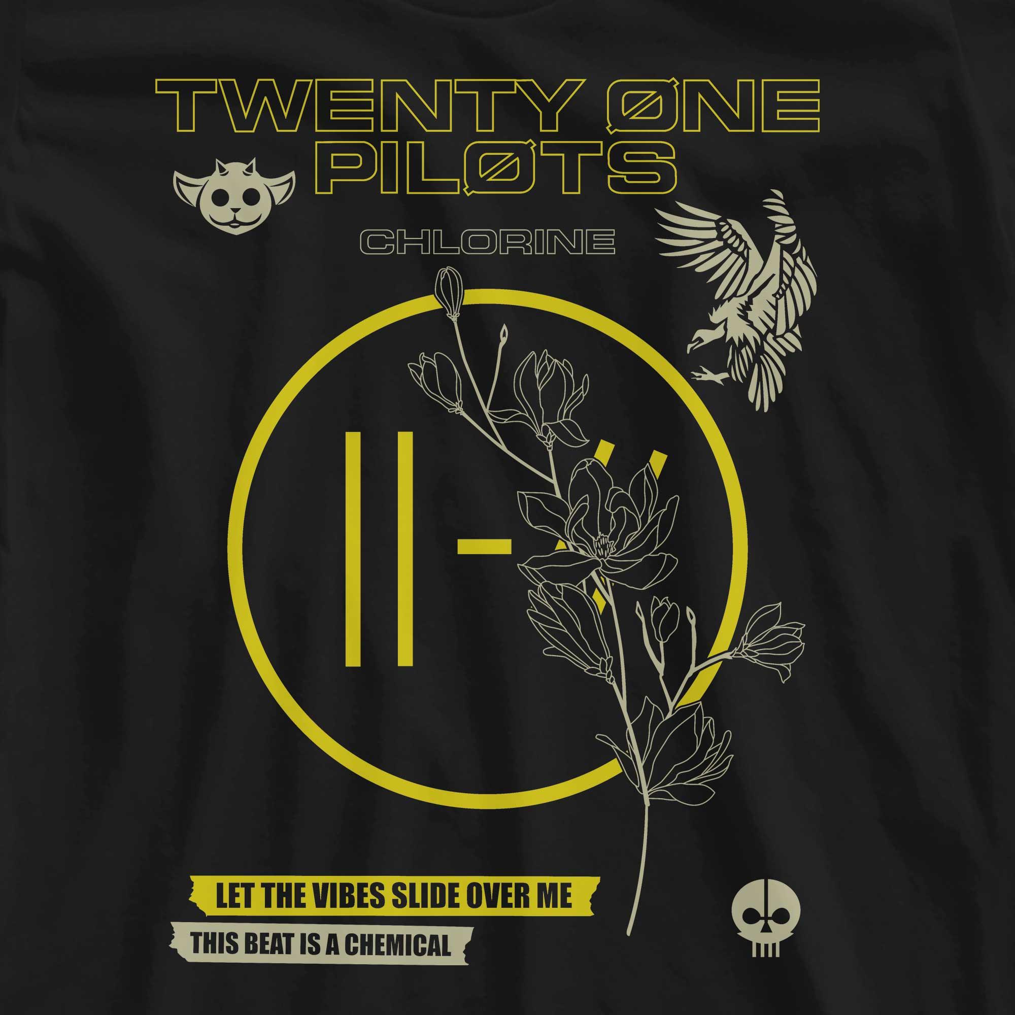 Camiseta Chlorine - Twenty One Pilots - Feminino