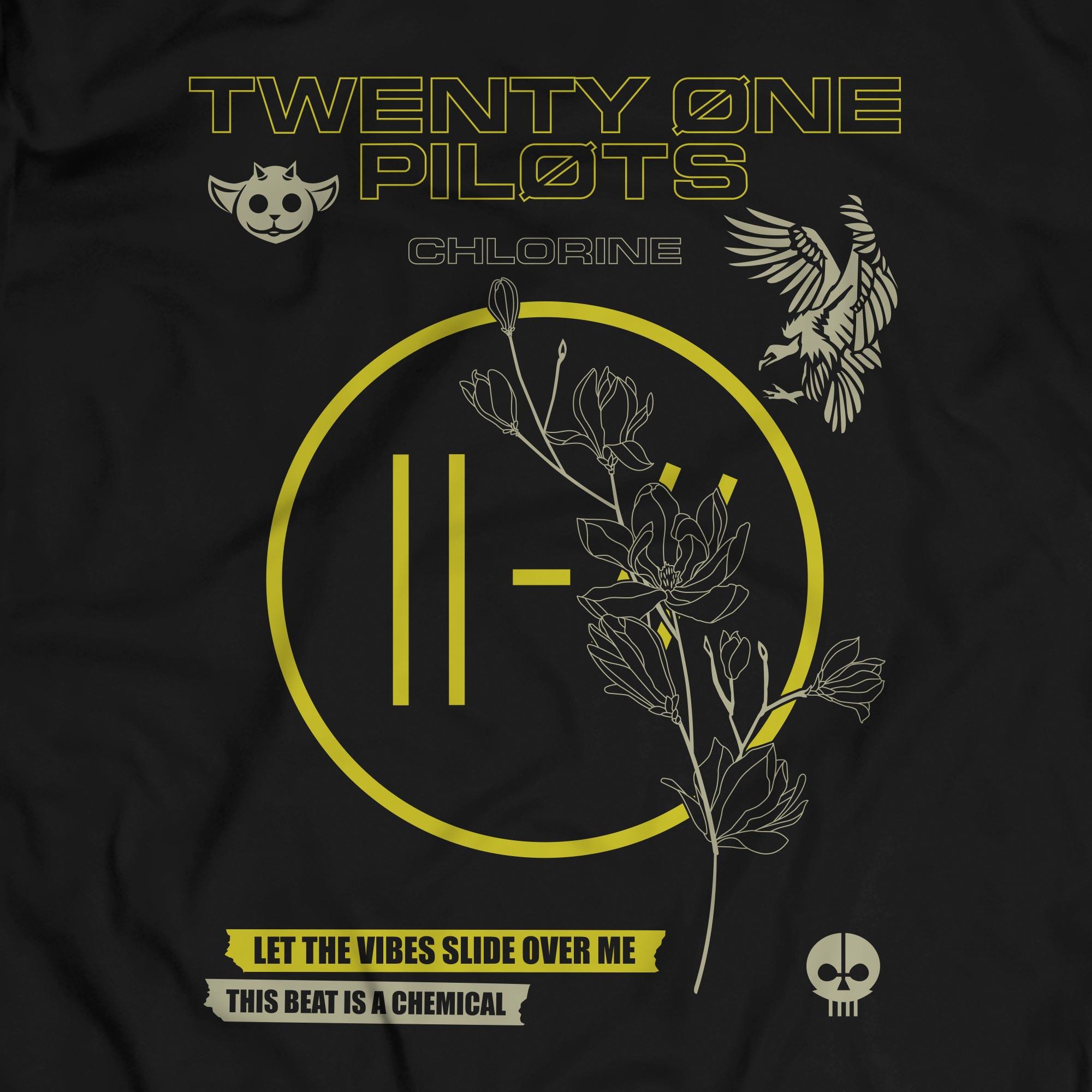 Camiseta Chlorine  - Twenty One Pilots - Masculino