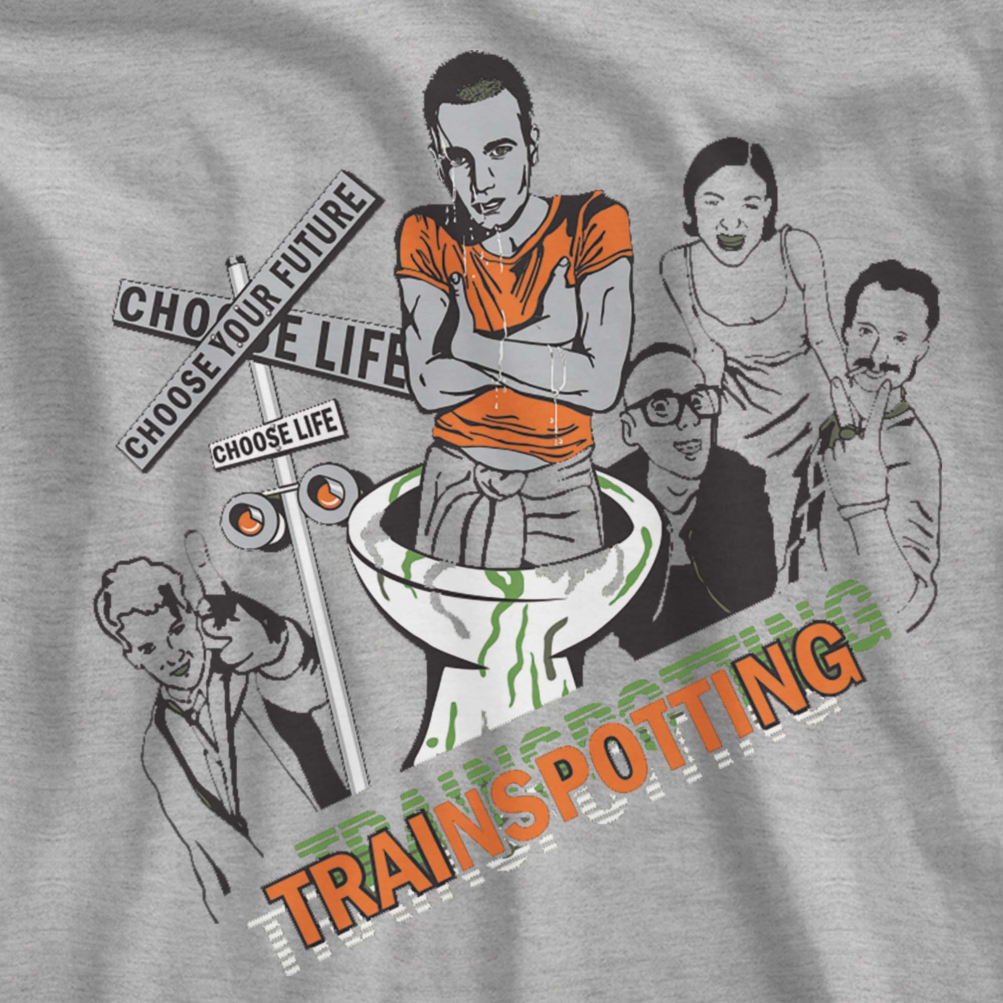Camiseta Choose Life - Trainspotting  - Feminino