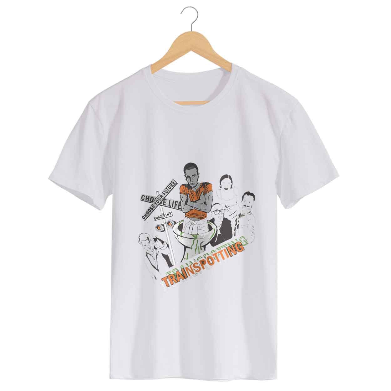 Camiseta Choose Life - Trainspotting  - Massculino