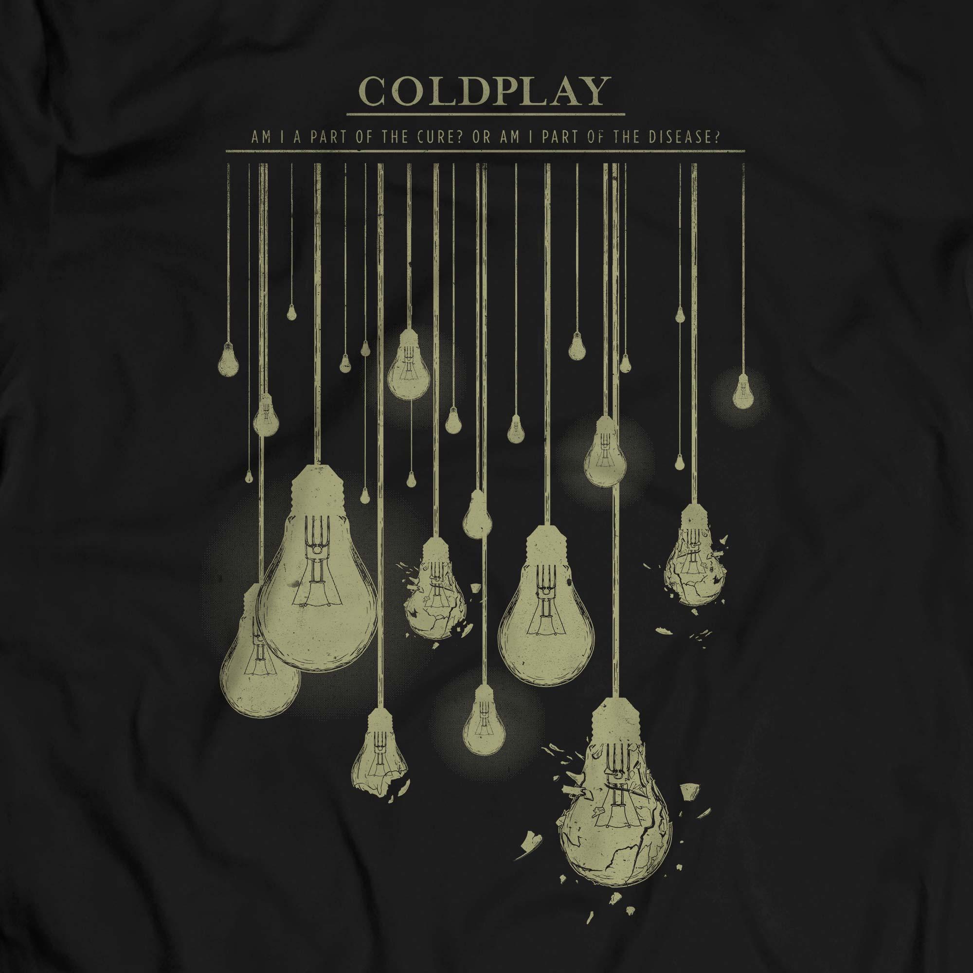 Camiseta Clocks - Coldplay - Masculino