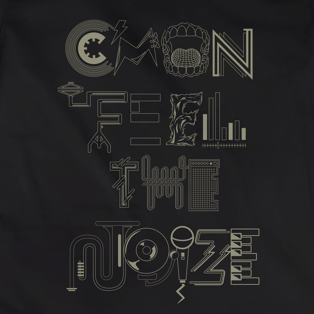 Camiseta Cmon Feel the Noize - Feminino