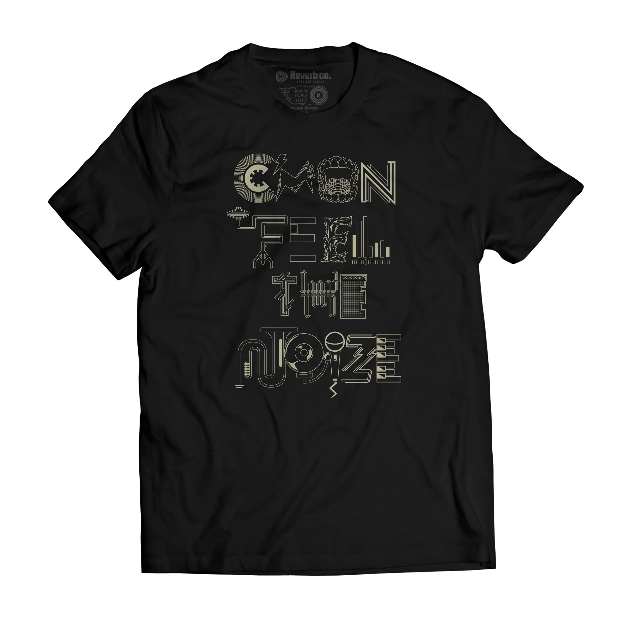 Camiseta Cmon Feel the Noize - Masculino