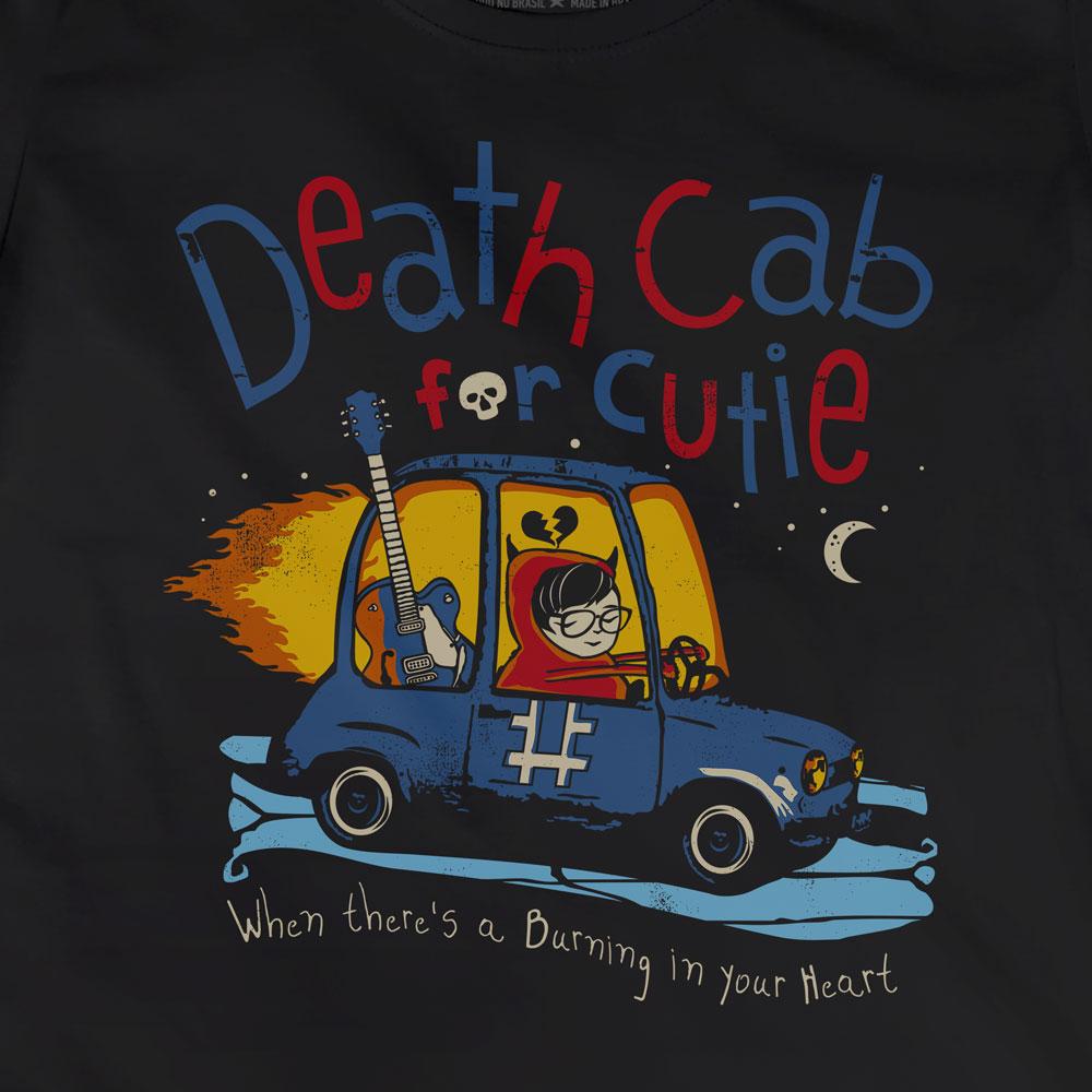 Camiseta Codes and Keys - Death Cab For Cutie - Feminino
