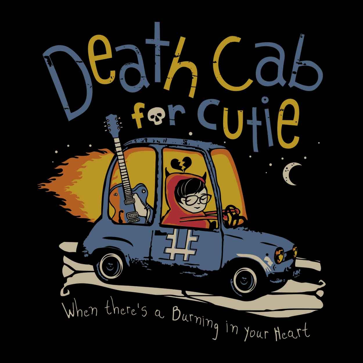 Camiseta - Codes and Keys - Death Cab For Cutie - Masculino