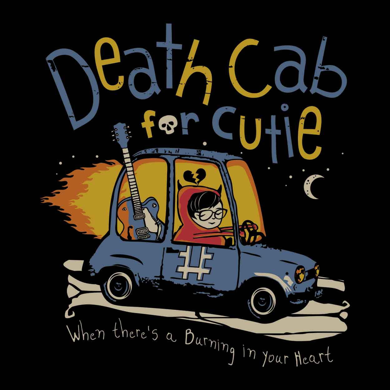 Camiseta Codes and Keys - Death Cab For Cutie - Masculino