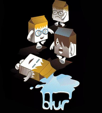 Camiseta - Coffee and TV - Blur - Feminino