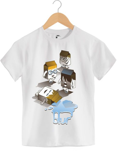 Camiseta - Coffee and TV - Blur - Infantil
