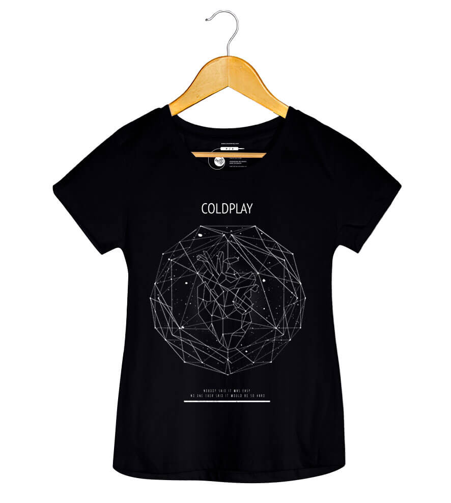 Camiseta Scientist - Coldplay - Feminino