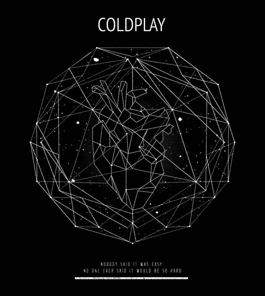 Camiseta - Scientist - Coldplay - Feminino