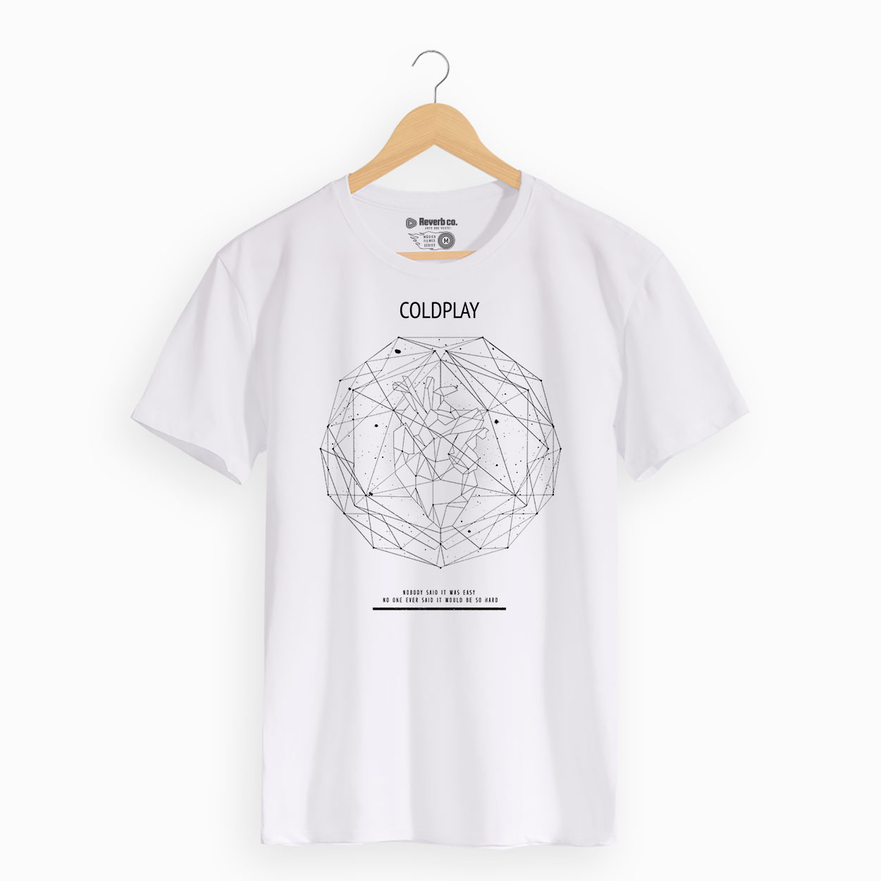 Camiseta Coldplay - Scientist - Masculino