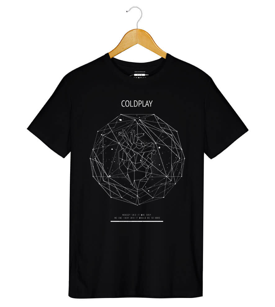 Camiseta - Coldplay - Scientist - Masculino