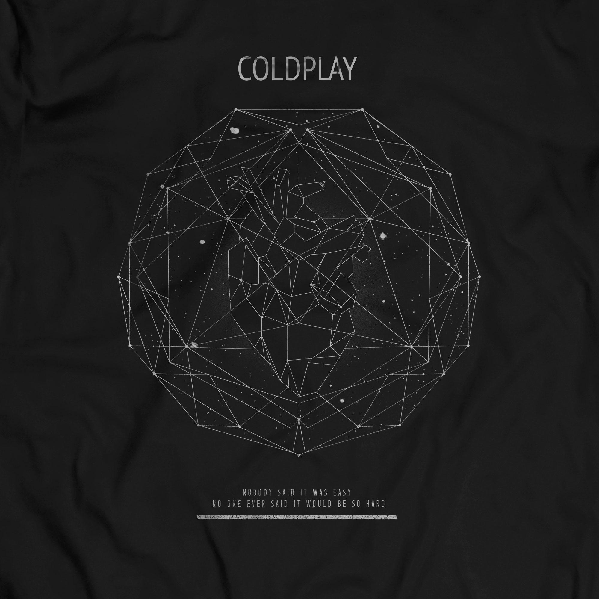 Camiseta The Scientist - Coldplay - Masculino