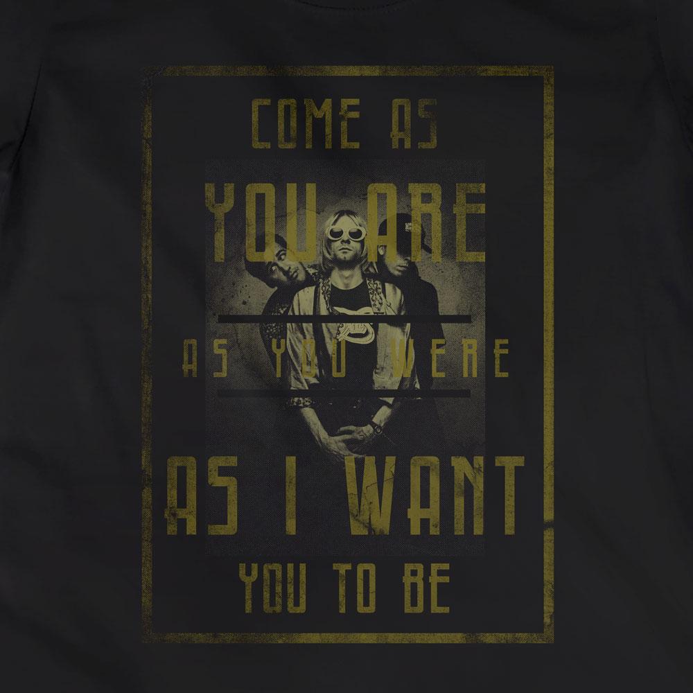 Camiseta Come As You Are - Nirvana - Feminino