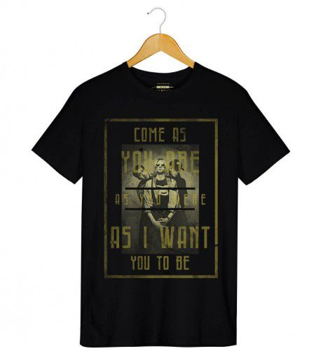 Camiseta - Come as You Are - Nirvana - Masculino