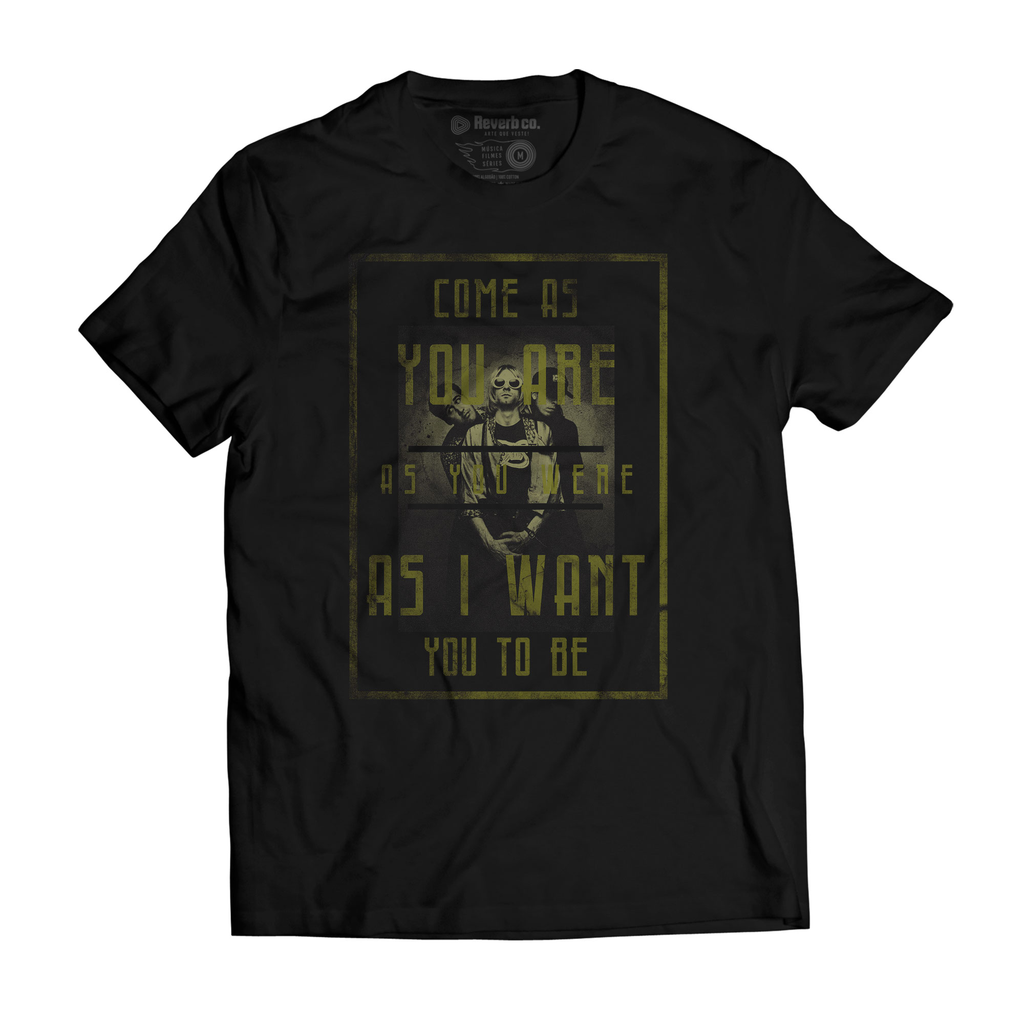 Camiseta Come as You Are - Nirvana - Masculino