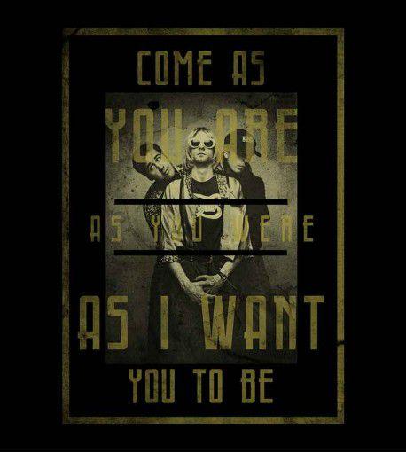 Camiseta Come as You Are - Nirvana - Masculino