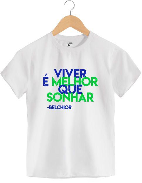 Camiseta - Como Nossos Pais - Belchior - Infantil