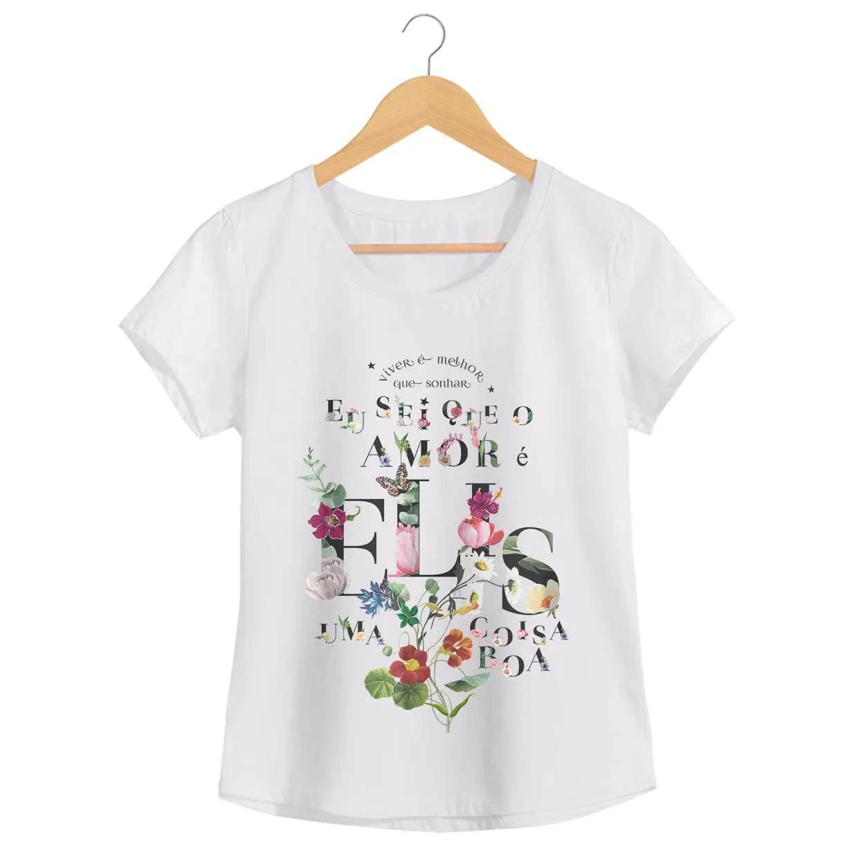 Camiseta - Como Nossos Pais - Elis Regina - Feminino