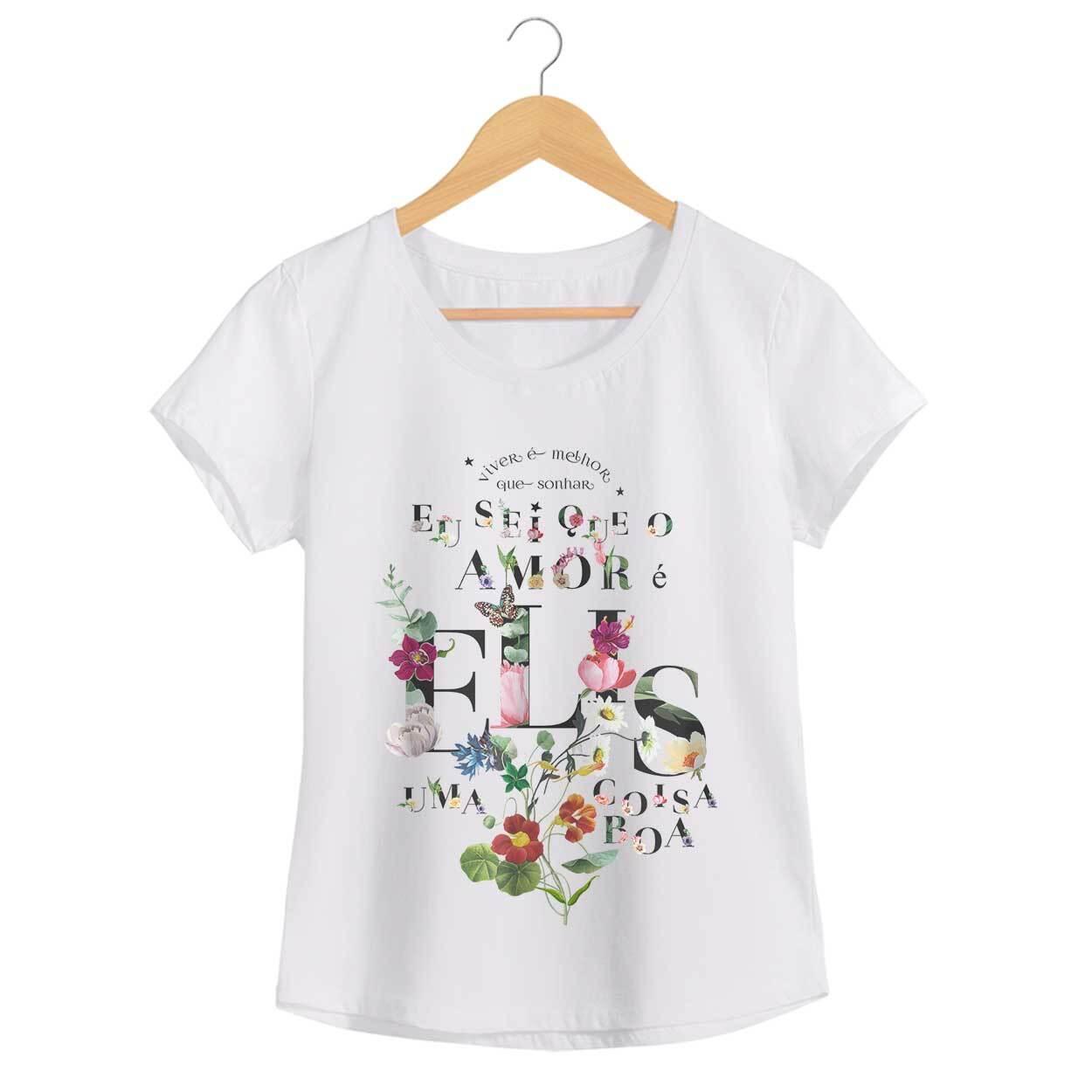 Camiseta Como Nossos Pais - Elis Regina - Feminino