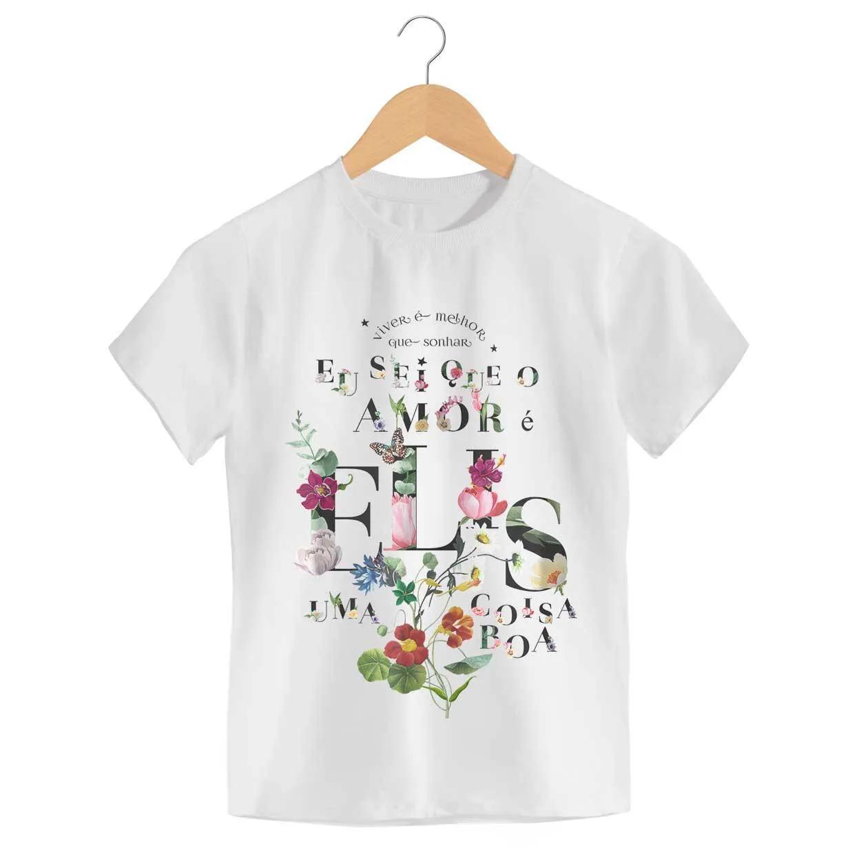 Camiseta - Como Nossos Pais - Elis Regina - Infantil