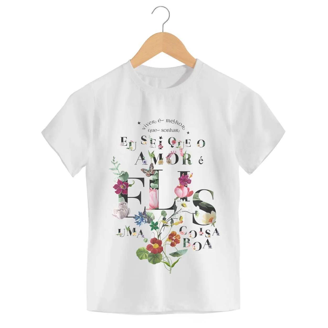 Camiseta Como Nossos Pais - Elis Regina - Infantil