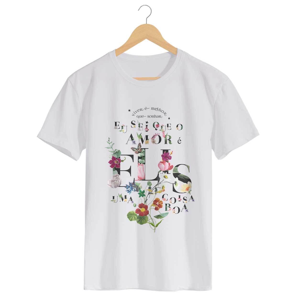 Camiseta Como Nossos Pais - Elis Regina - Masculino