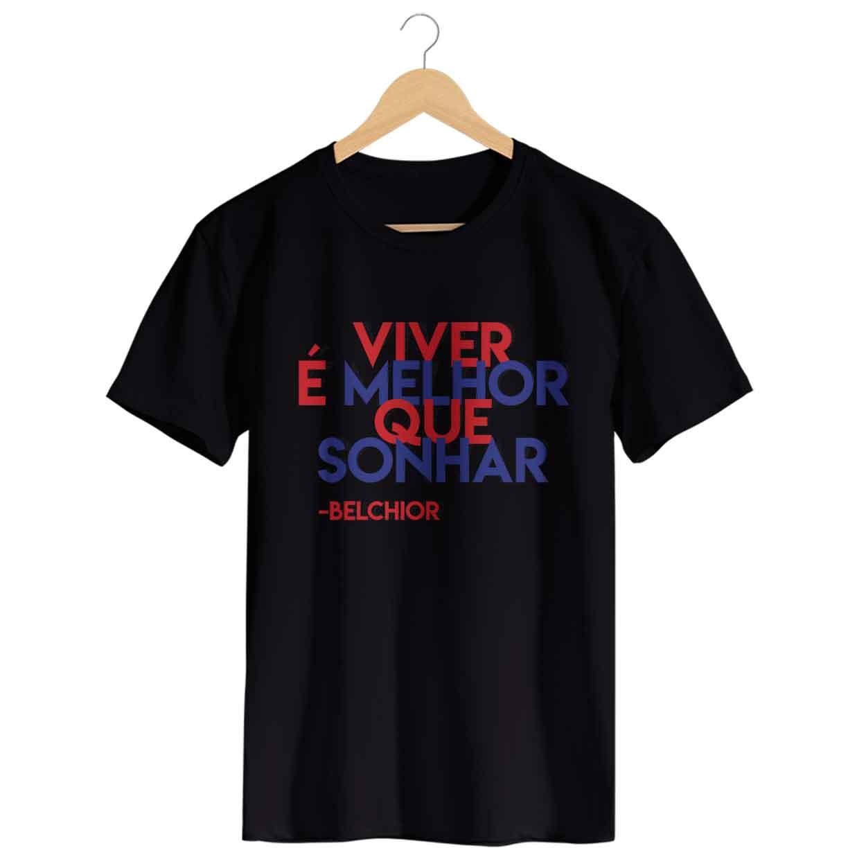 Camiseta - Como os Nossos Pais - Belchior - Masculino