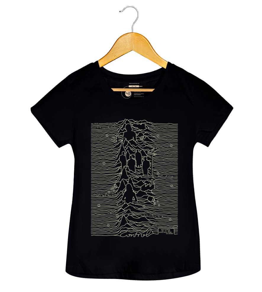 Camiseta - Control - Feminino