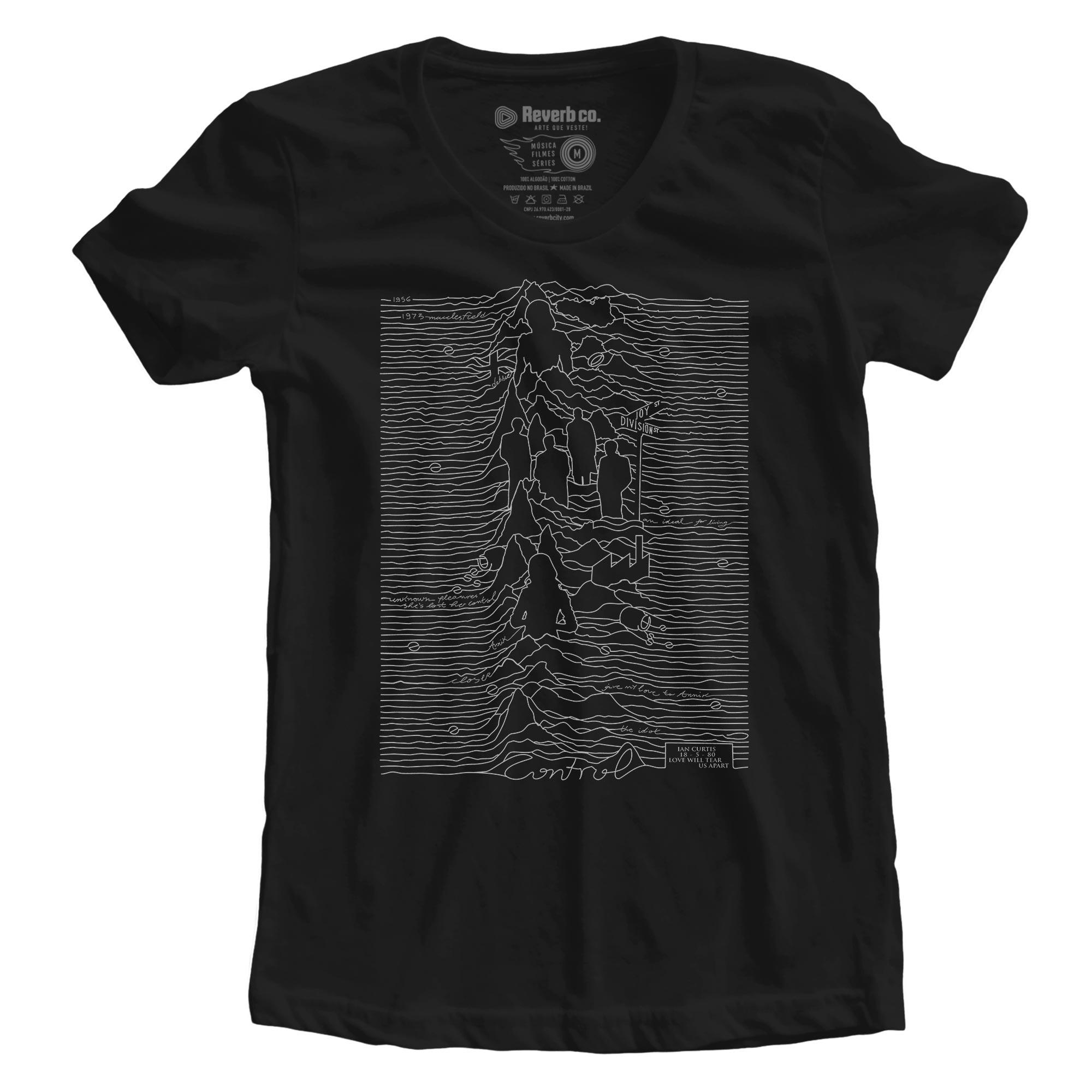 Camiseta Control - Feminino