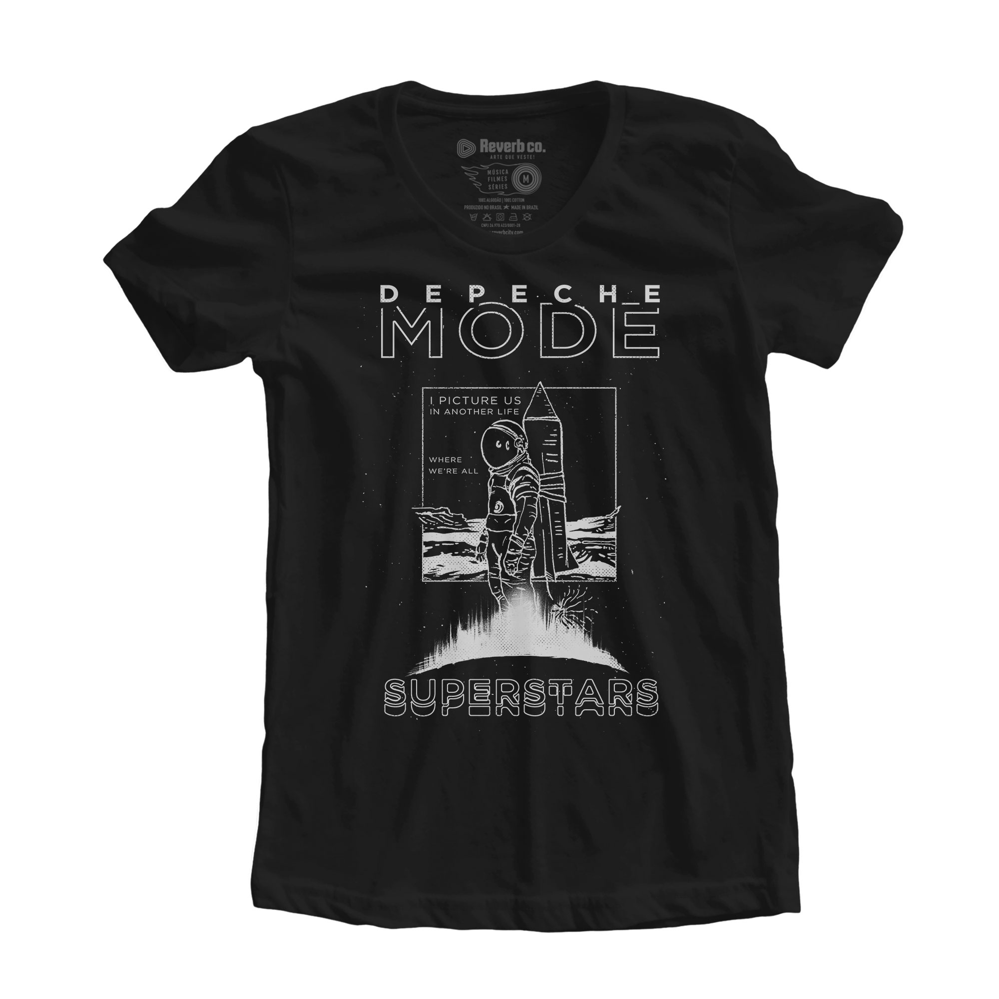 Camiseta Cover Me - Depeche Mode - Feminino