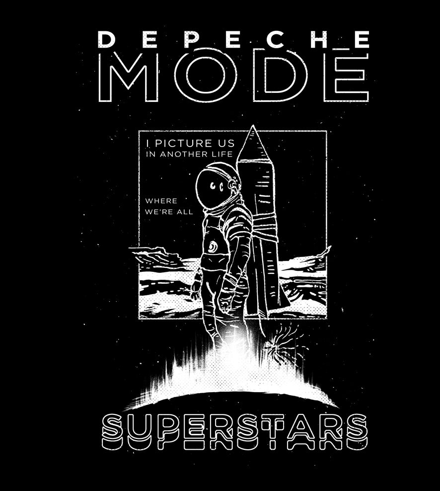 Camiseta - Cover Me - Depeche Mode - Masculino