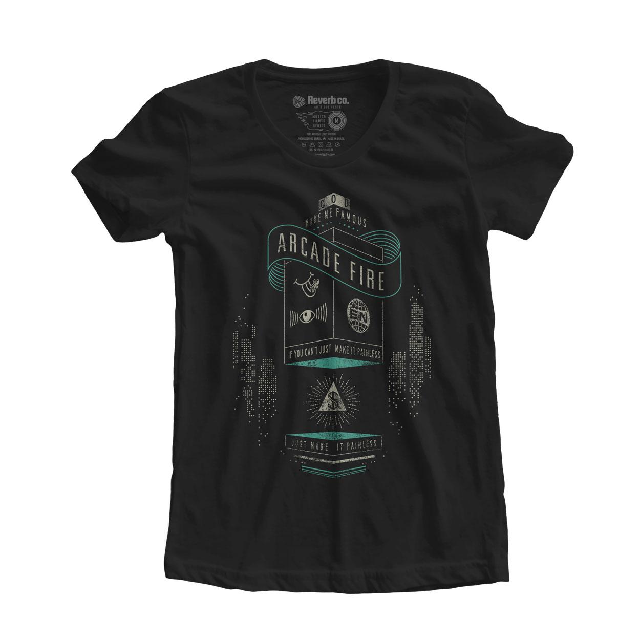 Camiseta Creature Comfort - Arcade Fire - Feminino