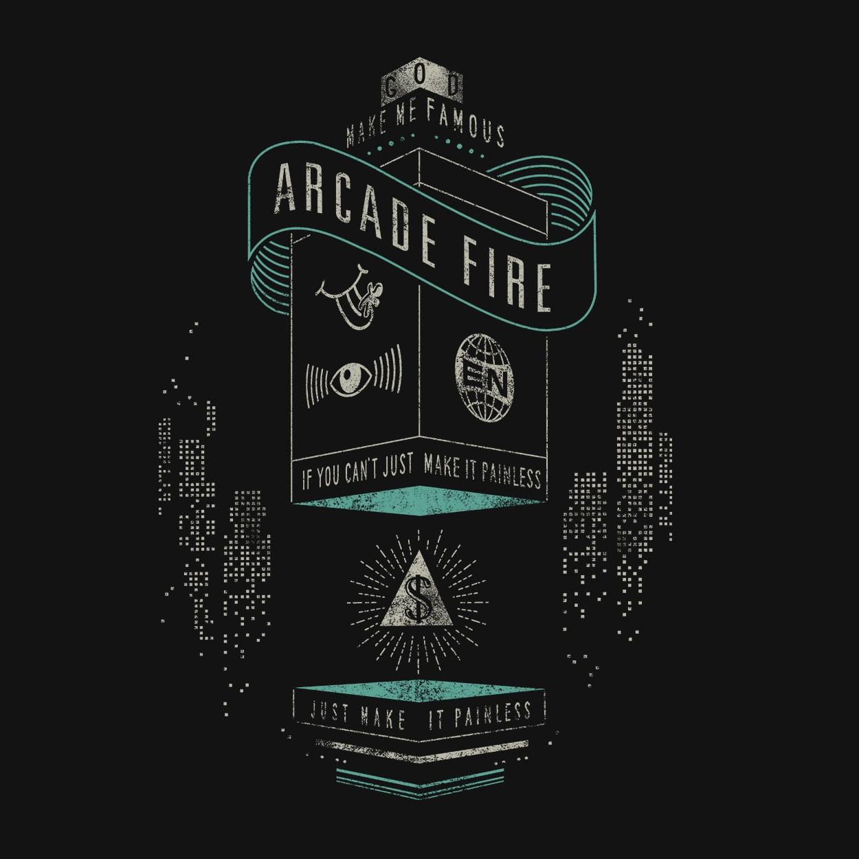 Camiseta Creature Comfort - ArcadeFire - Masculino