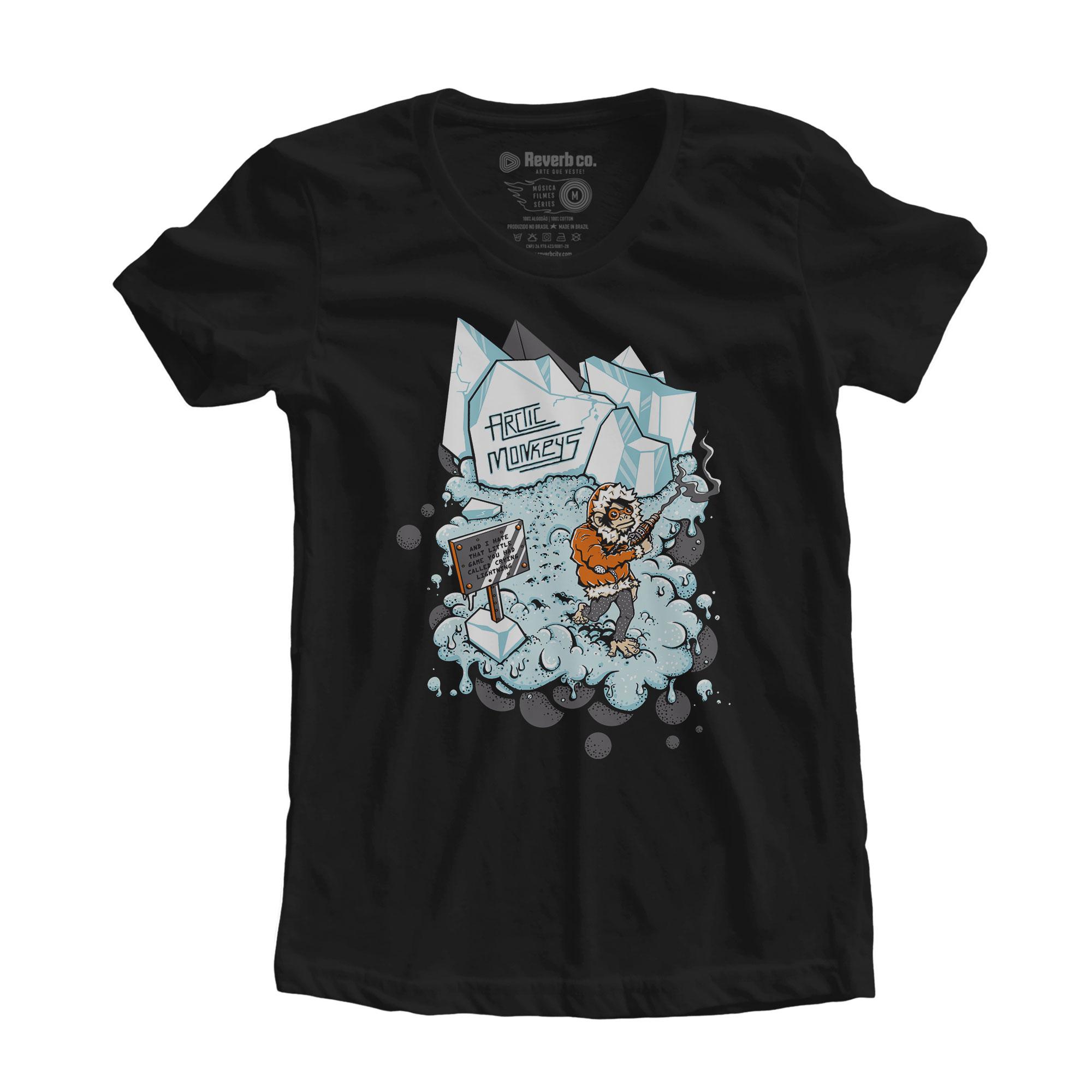 Camiseta Crying Lighting - Arctic Monkeys - Feminino