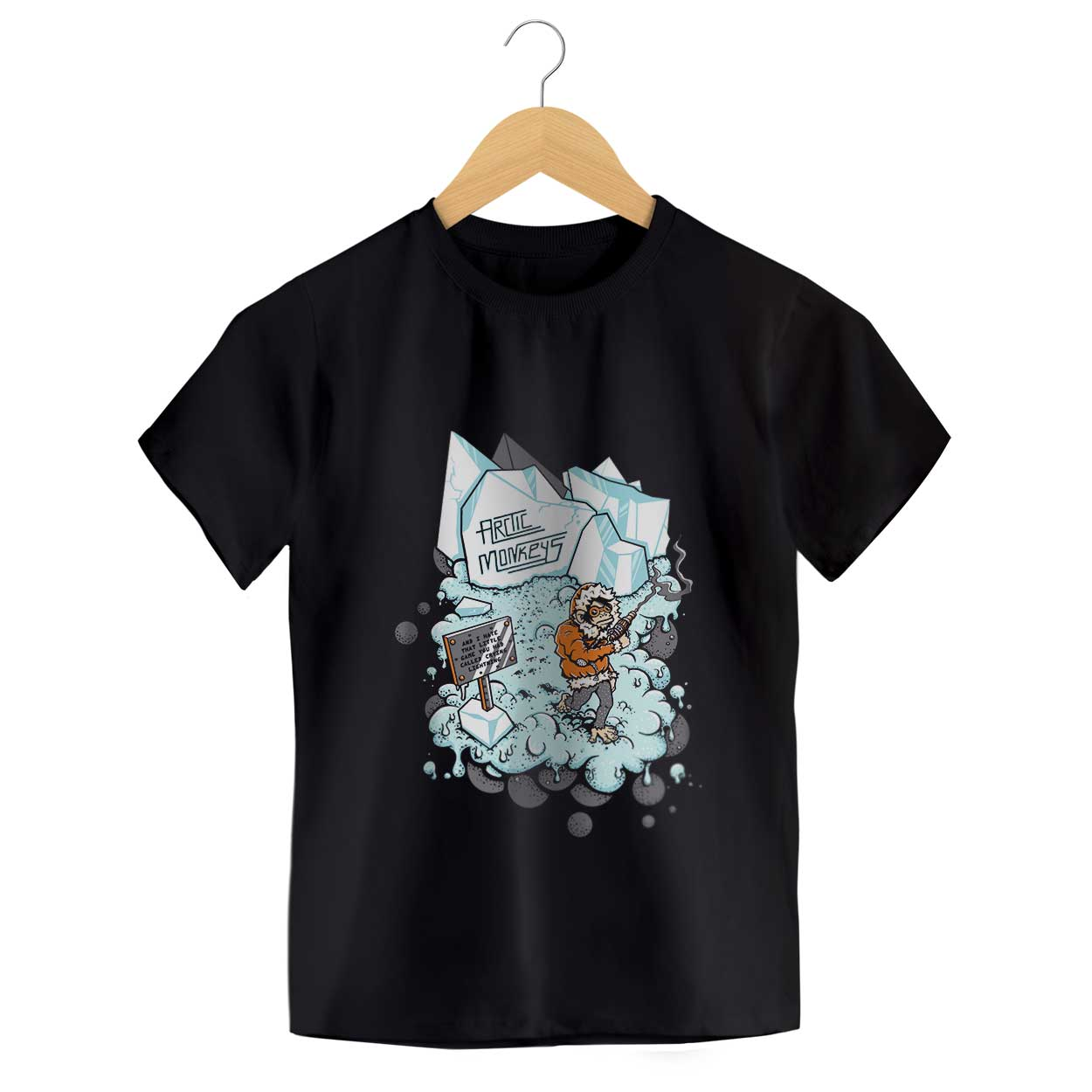Camiseta Crying Lighting - Arctic Monkeys - Infantil