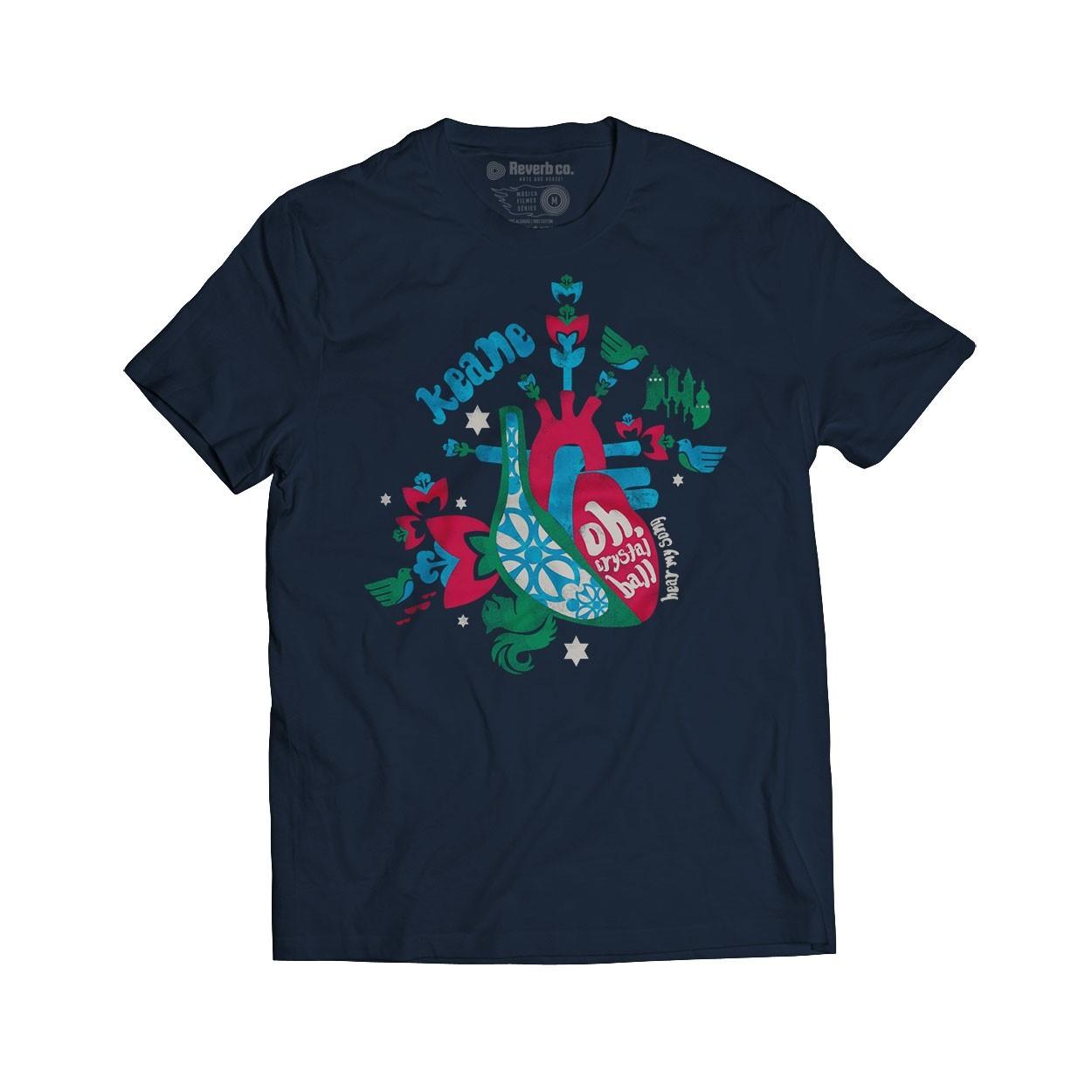 Camiseta Crystal Ball - Keane - Masculino