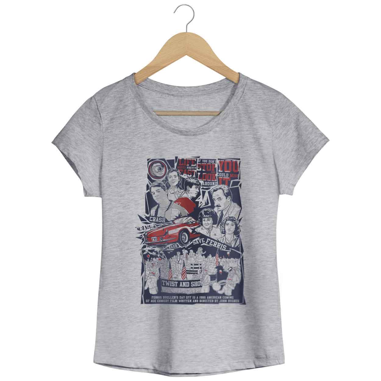 Camiseta Curtindo a Vida Adoidado - Feminino