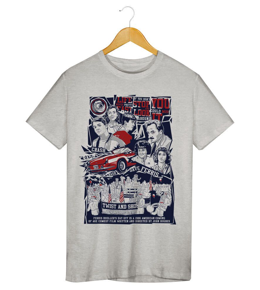 Camiseta - Curtindo a Vida Adoidado - Masculino