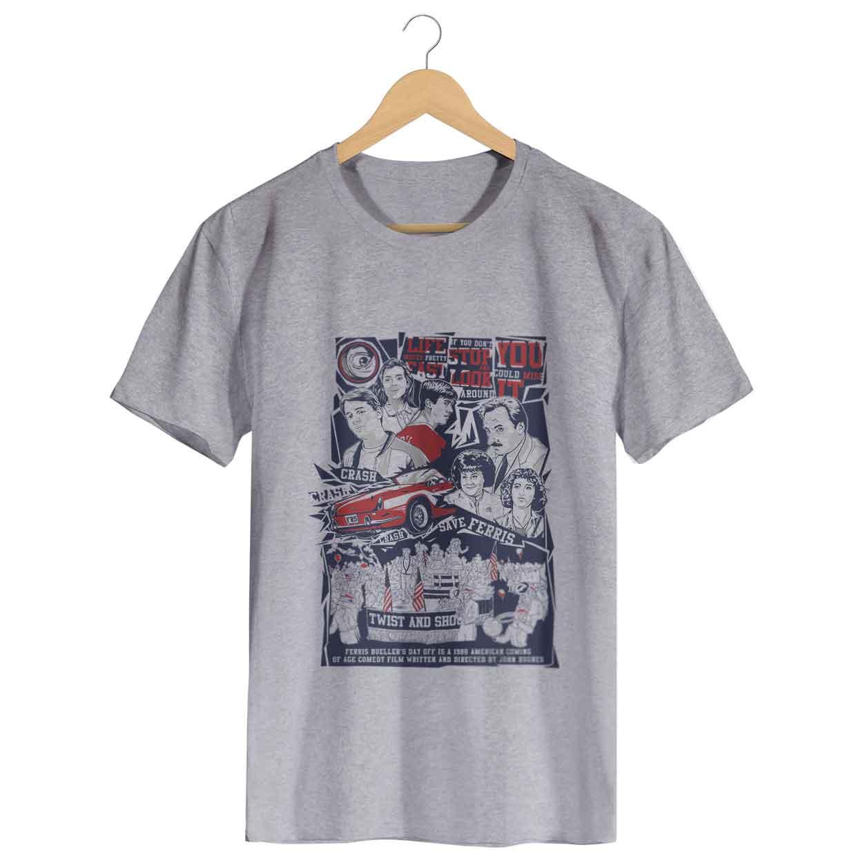 Camiseta Curtindo a Vida Adoidado - Masculino